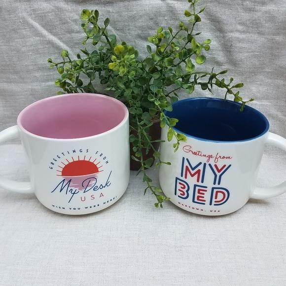 PAIR Coffee Mugs, My Desk